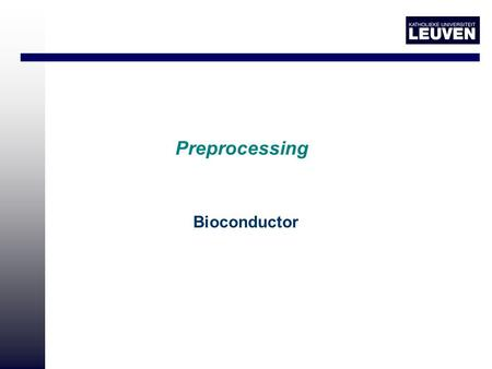 Preprocessing Bioconductor. Overview Data set Salmo, color flip design Name Cy5 Cy3 FileName 2004012211 array1 self1 self2 2004012211.txt 2004012212 array2.