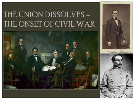 the basic issues that the civil war aim to resolve The missouri compromise  and a bloody civil war, to resolve when the civil war erupted and the slavery issue was ultimately settled.