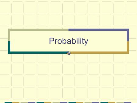 "Probability. Randomness When we produce data by randomized procedures, the laws of probability answer the question, ""What would happen if we did this."