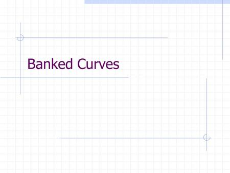 Banked Curves. Why Does Banking A Curve Help? Some centripetal force is created by a component of the normal force Normal Force is perpendicular to plane.