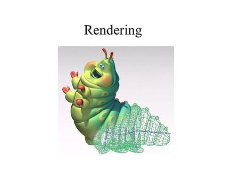 Rendering. Contents Objective Rendering of lines –DDA algorithm –Bresenham algorithm Polygons rendering Polygons filling Visible surface detection.