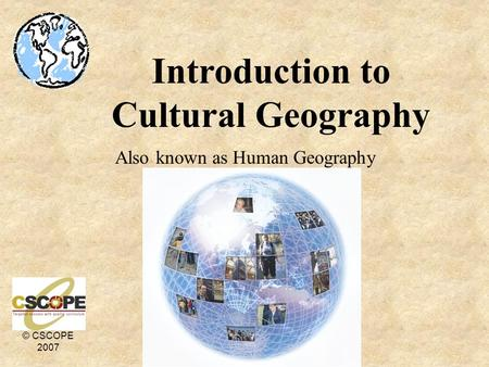 an introduction to the culture and geography of capetown Introduction to geography regions are divisions of the earth where different aspects of culture are universal divisions could be for language.