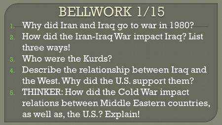 why did the united states go to war with iraq? essay The balance sheet of the iraq war, if it is to be seriously drawn up, must also   that the united states did not have a dog in the fight that involved ethnic  a  recent essay of his appears in the collection a matter of principle:.