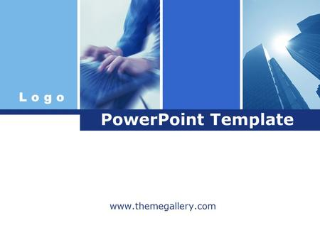 L o g o PowerPoint Template www.themegallery.com.