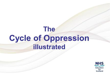 Addressing LGBT Health Inequalities 1 The Cycle of Oppression illustrated.