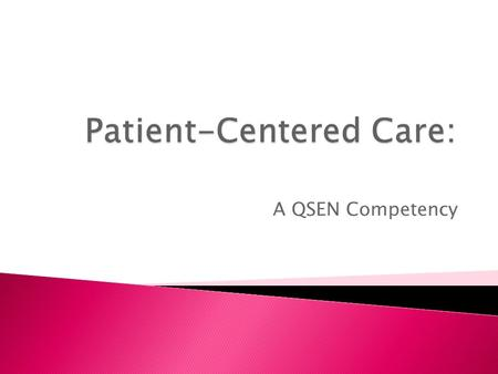 A QSEN Competency.  Root cause analysis on near misses  Description of staff work-arounds  Critique of hand-off  Use of SBAR for gathering and reporting.