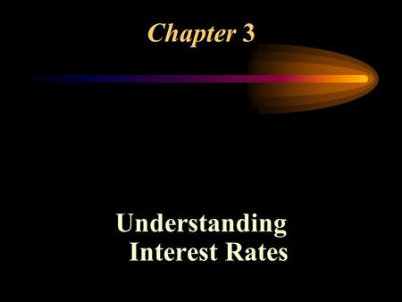 Chapter 3 Understanding Interest Rates. Four Types of Credit Instruments 1.Simple (Interest) Loan 2.Fixed Payment Loan (Amortizing) 3.Coupon Bond Face.