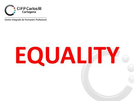 EQUALITY. What we are going to discuss is: - F r o m o u r e x p e r i e n c e - How various equity parameters affect when allocating students to their.