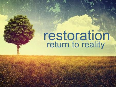 Restoration return to reality. I.Q. E.Q. vs. A ctivating Event B elief C onsequences Cognitive Behavioral Therapy.