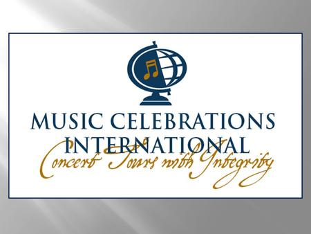  MCI is a full-service concert and festival organizing company  John Wiscombe founded MCI in 1993. As a youth, he spent several years as a tour manager.