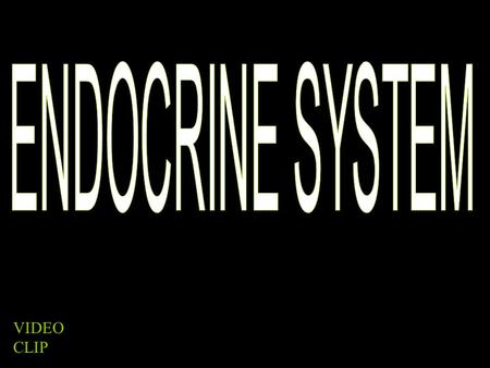 "VIDEO CLIP. ENDOCRINE V. EXOCRINE ENDOCRINE ""into"" Releases substance (hormone) into the bloodstream EXOCRINE ""out of"" Releases substance into a duct."