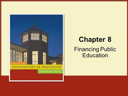Financing Public Education