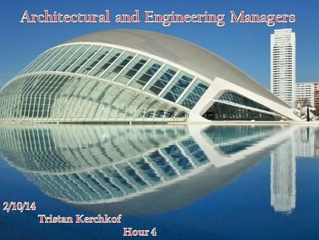 Architectural and engineering managers use their knowledge of architecture or engineering to oversee a variety of activities. They may direct and coordinate.