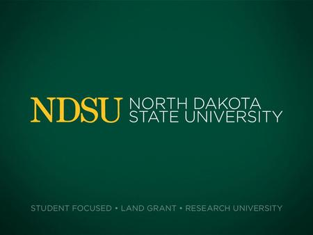 NDSU VISUAL ARTS SCHOLARSHIP APPLICATION PLEASE READ THIS PAGE BEFORE FILLING OUT THE REST OF THE APPLICATION This powerpoint application must be emailed.