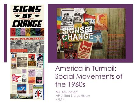 An analysis of the social movements in the united states of america