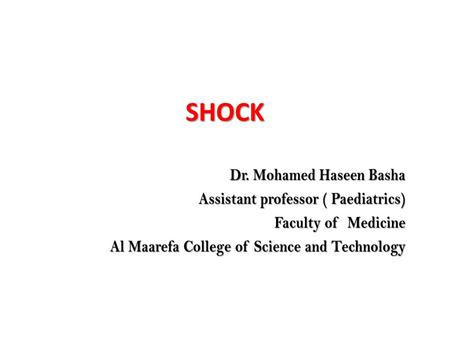 SHOCK. SHOCK Shock is a critical condition that results from inadequate tissue delivery of O2 and nutrients to meet tissue metabolic demand. Shock does.