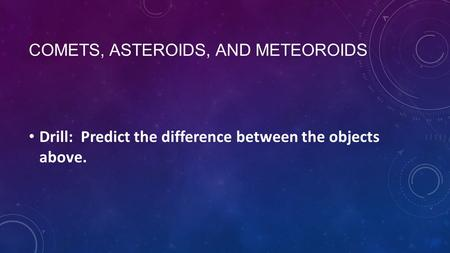 asteroids and meteors alike - photo #7