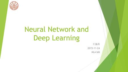 Adaline and madaline neural network ppt