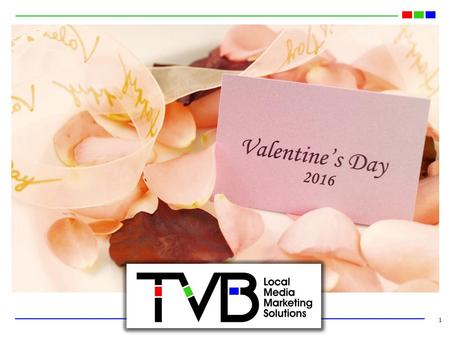 1 2016. 2016 Valentine's Day Spending Projected to be Almost $20 Billion 2 Source: NRF Monthly Consumer Survey, January 2016.