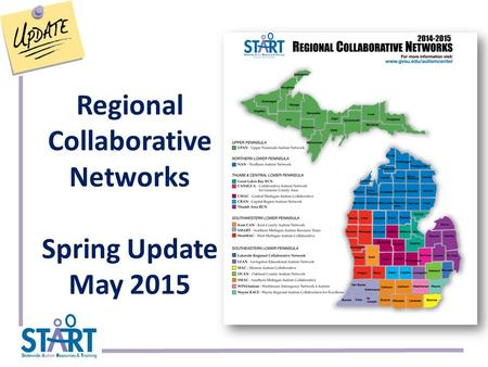 Regional Collaborative Networks Spring Update May 2015.