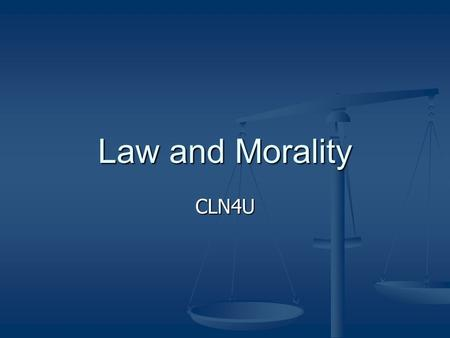 relationship between law and morailty This lesson discusses the interconnectedness of morality, law and religion it highlights the debate over the origin of morality and religion.