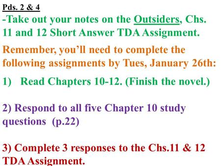 the outsiders close reading paper The outsiders short answer test - answer key s e hinton this set of lesson plans consists of approximately 110 pages of tests, essay questions, lessons, and other teaching materials.