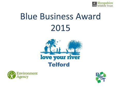 Telford Blue Business Award 2015. Water Quality.