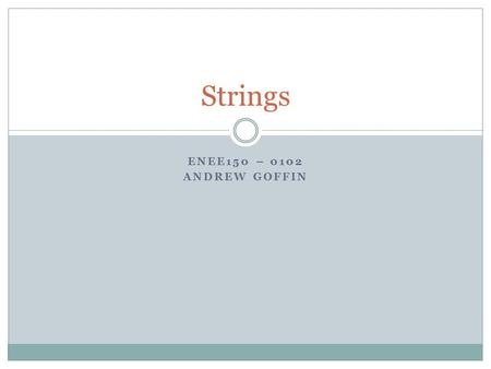 ENEE150 – 0102 ANDREW GOFFIN Strings. Project 2 Flight Database 4 options:  Print flight  Print airport  Find non-stop flights  Find one-stop flights.