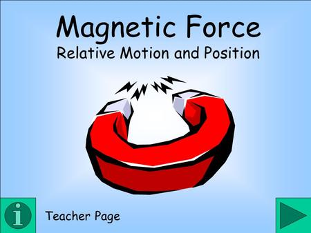 Relative Motion and Position