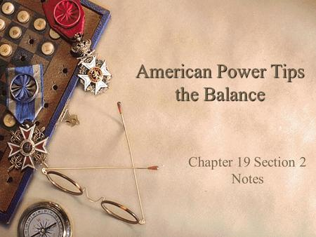 American Power Tips the Balance