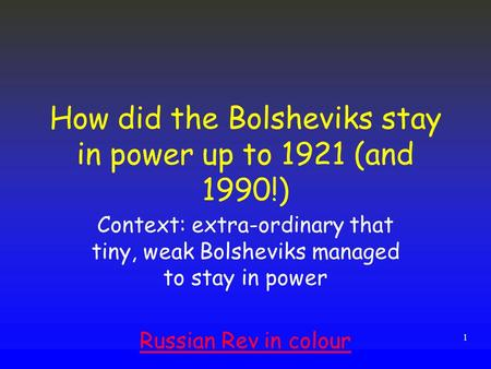 why did the bolsheviks face so
