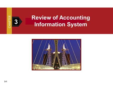 Review of Accounting Information System 3.