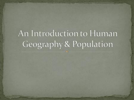 Human Geography Versus Physical Geography An economics theory by Garrett Hardin, according to which individuals, acting independently and rationally.