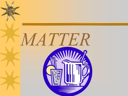 MATTER. What is Matter?  Matter is anything that takes up SPACE.