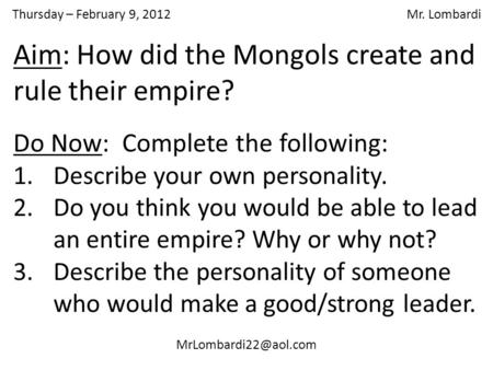 10 Amazing Facts About The Mongols
