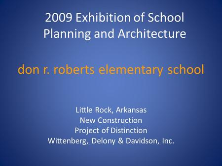 don r. roberts elementary school