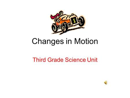 Third Grade Science Unit