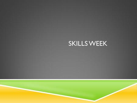 SKILLS WEEK. PAPER 1 PAPER 1: QUESTIONS AND EXAM TECHNIQUE  Paper 1 is worth 3O% (SL).  Because you know the structure and type of questions you.