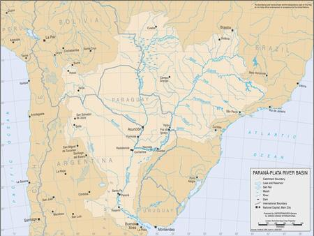 OVERVIEW Area = 3.2 mill. Km 2 (1.25 mill.miles 2 ) top 5 largest river basin in the world It covers 17% of the continental surface Five countries: Brazil.