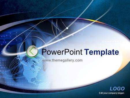 LOGO Edit your company slogan PowerPoint Template www.themegallery.com.