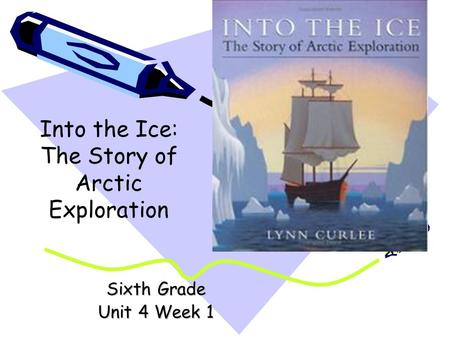 Sixth Grade Unit 4 Week 1 Into the Ice: The Story of Arctic Exploration.