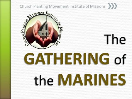 Church Planting Movement Institute of Missions. It is a Holy Spirit controlled process of rapid multiplication of indigenous churches within a specific.