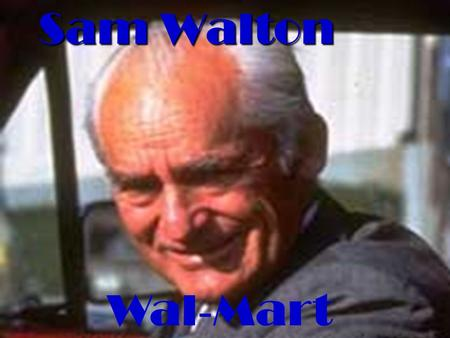 wal mart background and history of company Wal-mart: a history of sam walton's retail phenomenon (twayne's evolution of modern business series) [sandra stringer vance, roy v scott, edwin j perkins] on amazoncom free shipping on qualifying offers.