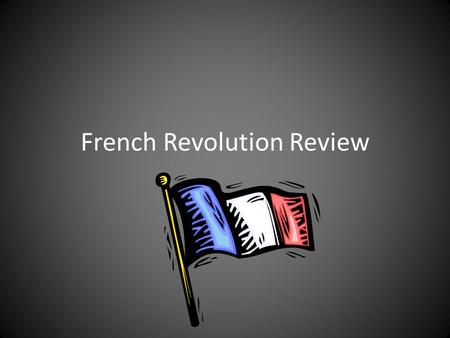 "French Revolution Review. Who said it? ""I am well educated. I own a bakery in Paris, but I pay most of my income in taxes. I can hardly afford to feed."