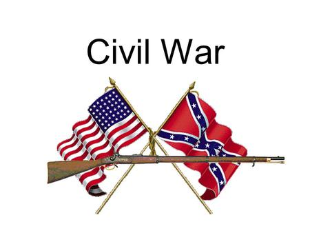 Civil War. Election of 1860 Democratic Party split Border States – Constitutional Union Party –DE, MD, KY, MO.