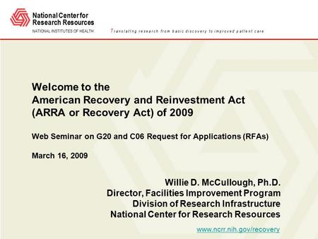 SAMHSA's Working Definition of Recovery Updated