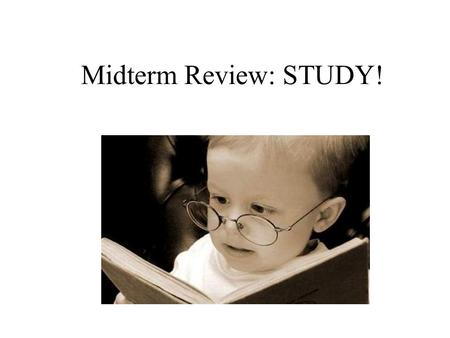 Midterm Review: STUDY!. News value the criteria editors and reporters use to decide what news is fit to print or broadcast.