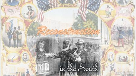 Reconstruction 3 Key Issues to resolve 1. Status of freed slaves (individual rights and equality) 2. Status of Rebellious States (former Confederate States)