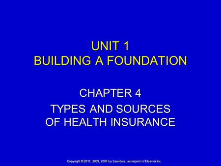 Chapter 6 Insurance And Coding Ppt Download