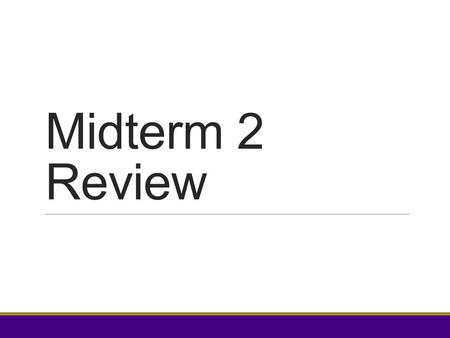 Midterm 2 Review. Stars and why we use nested loops  Matrix problems (stars)  Other problems involving multiple dimensions  Loops within a process.